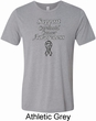 Support Carcinoid Cancer Awareness Tri Blend Tee