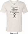 Support Carcinoid Cancer Awareness Tri Blend V-neck