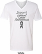 Support Carcinoid Cancer Awareness V-neck