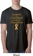 Support Childhood Cancer Awareness Burnout Shirt