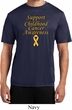 Support Childhood Cancer Awareness Dry Wicking T-shirt