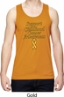 Support Childhood Cancer Awareness Dry Wicking Tank Top