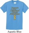 Support Childhood Cancer Awareness Kids T-shirt