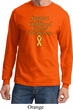 Support Childhood Cancer Awareness Long Sleeve
