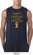 Support Childhood Cancer Awareness Sleeveless Shirt