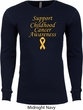 Support Childhood Cancer Awareness Thermal Shirt