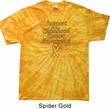 Support Childhood Cancer Awareness Tie Dye Shirt