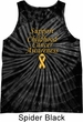 Support Childhood Cancer Awareness Tie Dye Tank Top