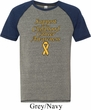 Support Childhood Cancer Awareness Tri Blend T-shirt
