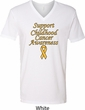 Support Childhood Cancer Awareness V-neck