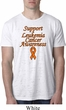 Support Leukemia Cancer Awareness Burnout T-shirt