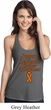 Support Leukemia Cancer Awareness Ladies T-back Tank Top
