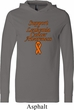 Support Leukemia Cancer Awareness Lightweight Hoodie