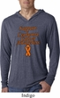 Support Leukemia Cancer Awareness Lightweight Hoodie Tee