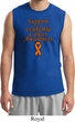 Support Leukemia Cancer Awareness Muscle Shirt