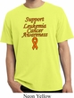 Support Leukemia Cancer Awareness Pigment Dyed T-shirt
