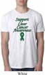 Support Liver Cancer Awareness Burnout T-shirt