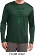 Support Liver Cancer Awareness Dry Wicking Long Sleeve