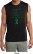 Support Liver Cancer Awareness Dry Wicking Sleeveless Shirt
