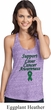 Support Liver Cancer Awareness Ladies T-Back Tank Top