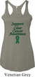 Support Liver Cancer Awareness Ladies Tri Blend Racerback
