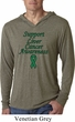 Support Liver Cancer Awareness Lightweight Hoodie Tee