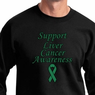 Support Liver Cancer Awareness Sweatshirt