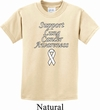 Support Lung Cancer Awareness Kids T-shirt