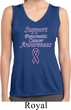 Support Pancreatic Cancer Awareness Ladies Dry Wicking Tank Top