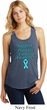Support Prostate Cancer Ladies Racerback