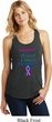 Support Thyroid Cancer Awareness Ladies Racerback