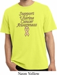 Support Uterine Cancer Awareness Pigment Dyed T-shirt