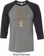 Support Uterine Cancer Awareness Raglan Shirt