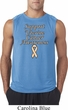 Support Uterine Cancer Awareness Sleeveless Shirt
