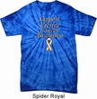 Support Uterine Cancer Awareness Tie Dye T-shirt