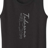 Tadasana Mountain Pose Ladies Yoga Shirts