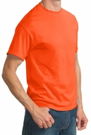 Tall Mens High Visibility Cycle Tee Shirt