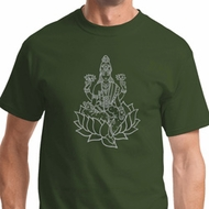 Tara Sketch Mens Yoga Shirts