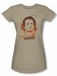 Taxi Juniors T-Shirt - Blame It On The Brownies Sand