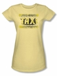 Taxi Juniors T-Shirt - Run Down Taxi Banana