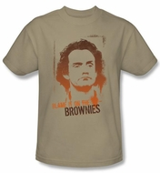Taxi T-Shirt - Blame It On The Brownies Adult Sand