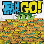 Teen Titans Go Burgers And Dogs Sublimation Shirts