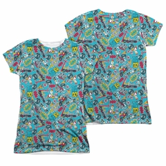 Teen Titans Go Shirt Pattern Sublimation Juniors Shirt