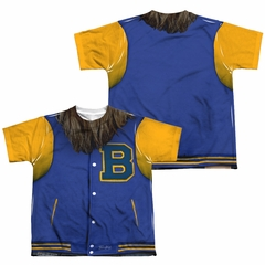 Teen Wolf Varsity Jacket Sublimation Youth Shirt Front/Back Print
