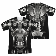 Terminator Endoskeleton Costume Sublimation Shirt Front/Back Print