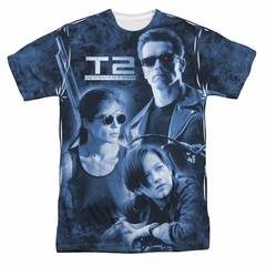 Terminator II Protector And Hunter Sublimation Shirt