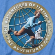 The Adventures Of Tintin Around The Globe Shirts