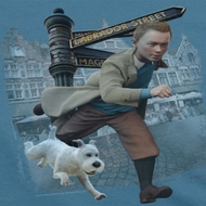 The Adventures Of Tintin Labrador Street Shirts