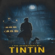 The Adventures Of Tintin Title Poster Shirts
