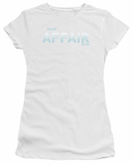 The Affair Juniors Shirt Logo White T-Shirt
